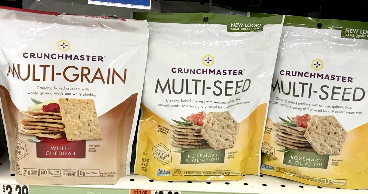 Save 1 25 On Crunchmaster Products Deals Living Rich With Coupons