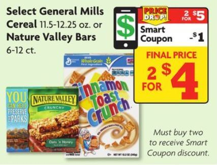 picture regarding Family Dollar Printable Coupons referred to as All round Mills Cereal and Milk as Lower as $1.60 at Spouse and children