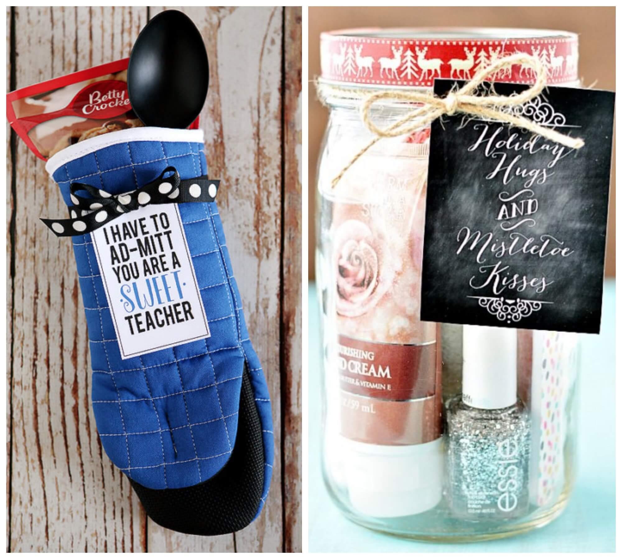 Teacher Christmas Gifts.24 Diy Teacher Christmas Gift Ideas Easy Gift Ideasliving