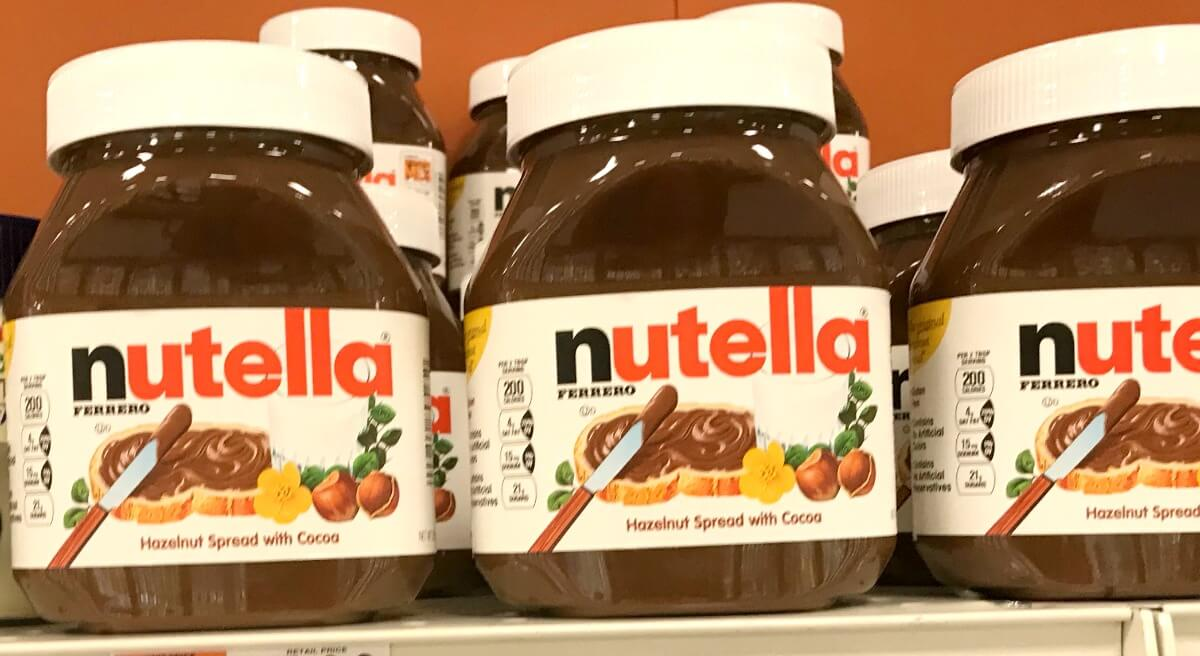 picture about Nutella Printable Coupon named Nutella Hazelnut Unfold Simply $0.99 at Walgreens! Rebate
