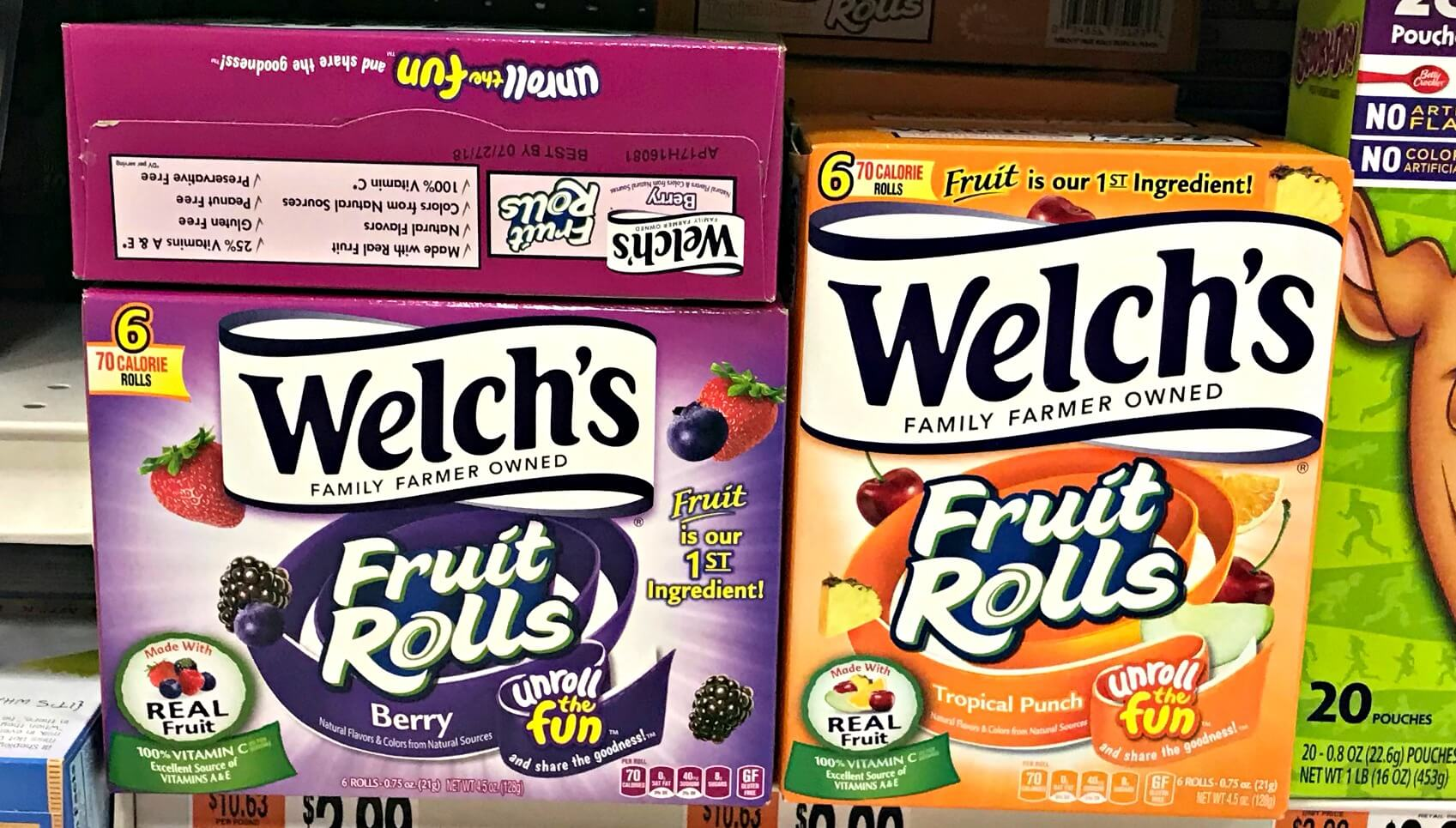 Welch's Fruit Snack Coupons February 2019