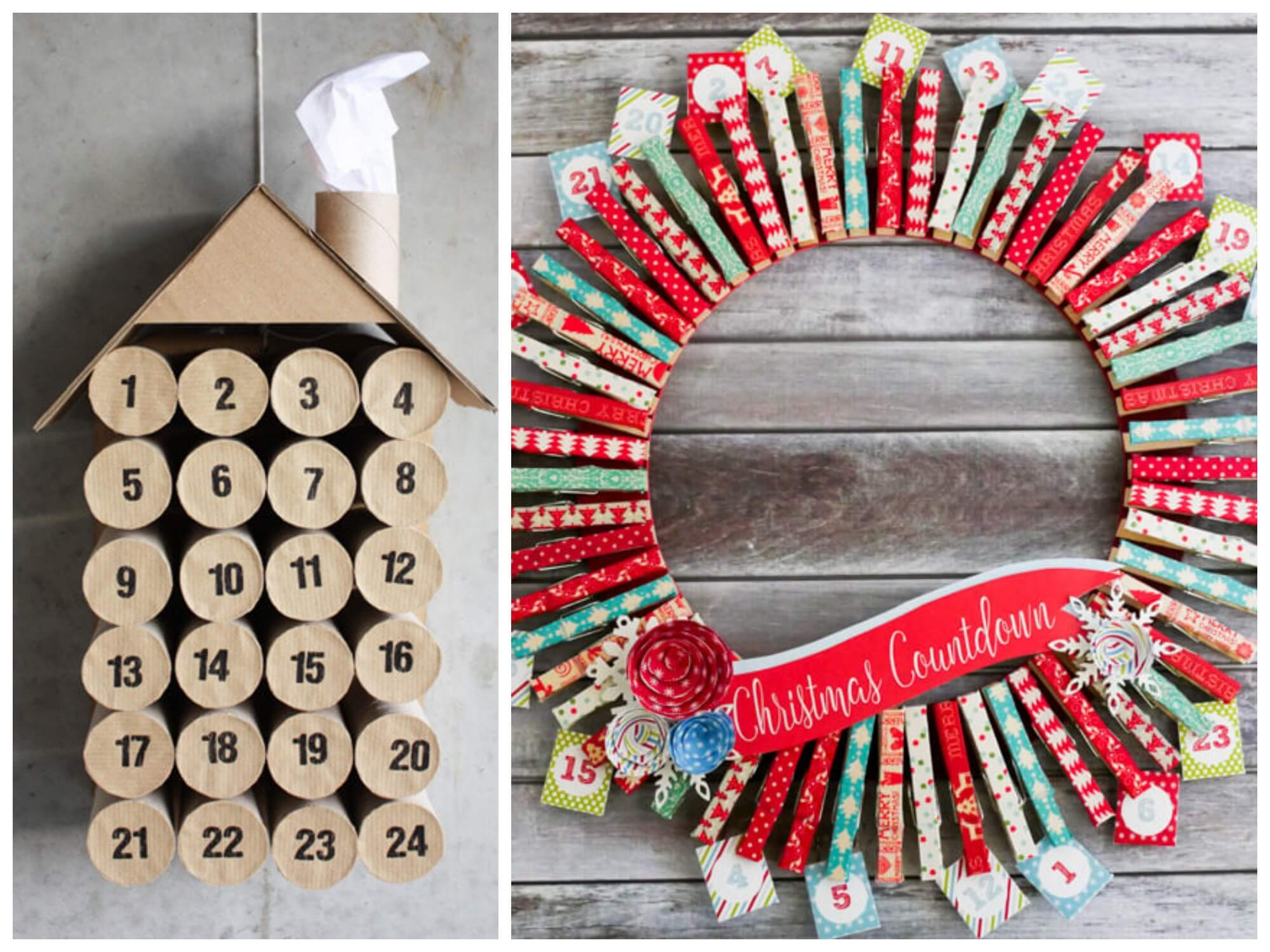 15 Creative Diy Ways To Countdown To Christmas Living Rich With Coupons
