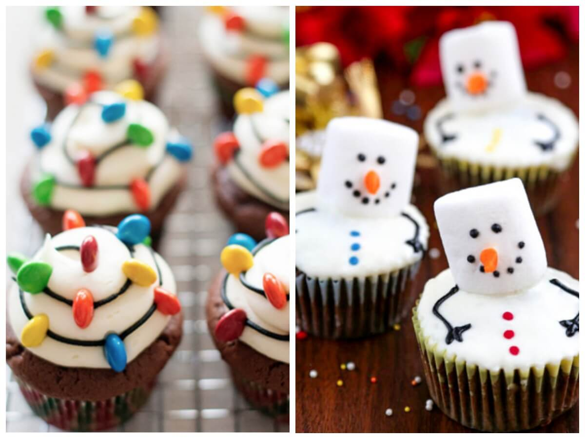 21 Festive Delicious Christmas Cupcake Ideas To Makeliving Rich