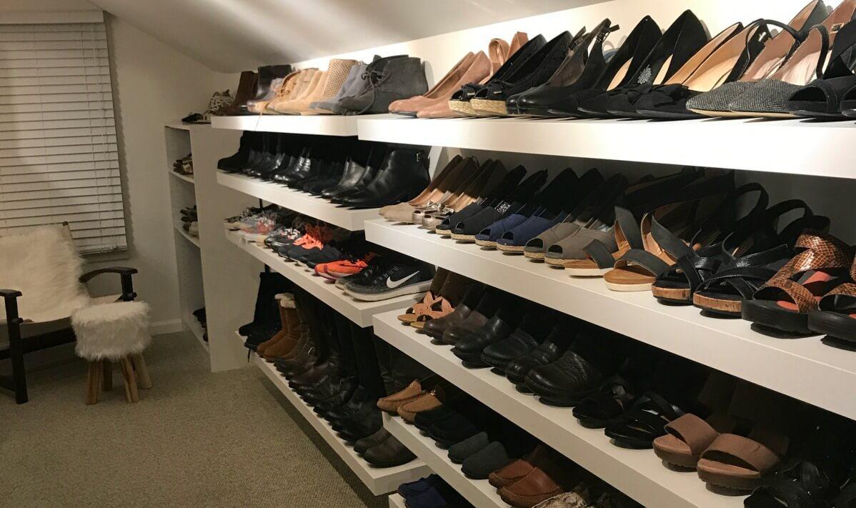 closet Ideas for shoes