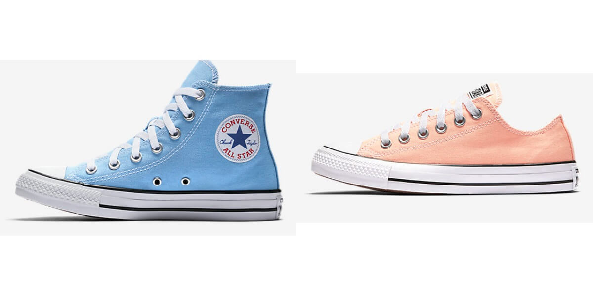 image relating to Converse Printable Coupons named Pick out Chat Chuck Taylor Sneakers in opposition to $19.98 Residing Abundant