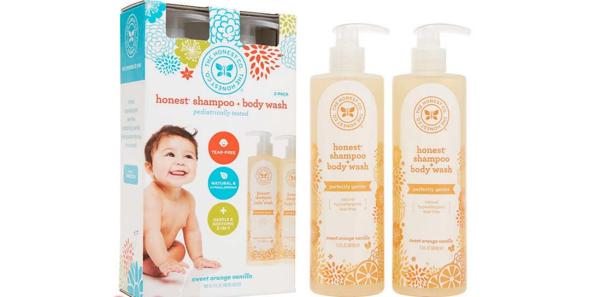 graphic regarding Honest Company Printable Coupon known as Costco: The Trustworthy Organization Shampoo and Entire body Clean 2 Pack basically