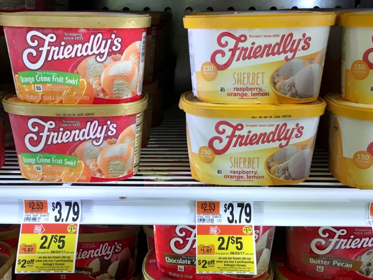 picture relating to Friendly's Ice Cream Coupons Printable Grocery identified as Friendlys Ice Product Simply just $1.88 at Prevent Keep No Discount codes