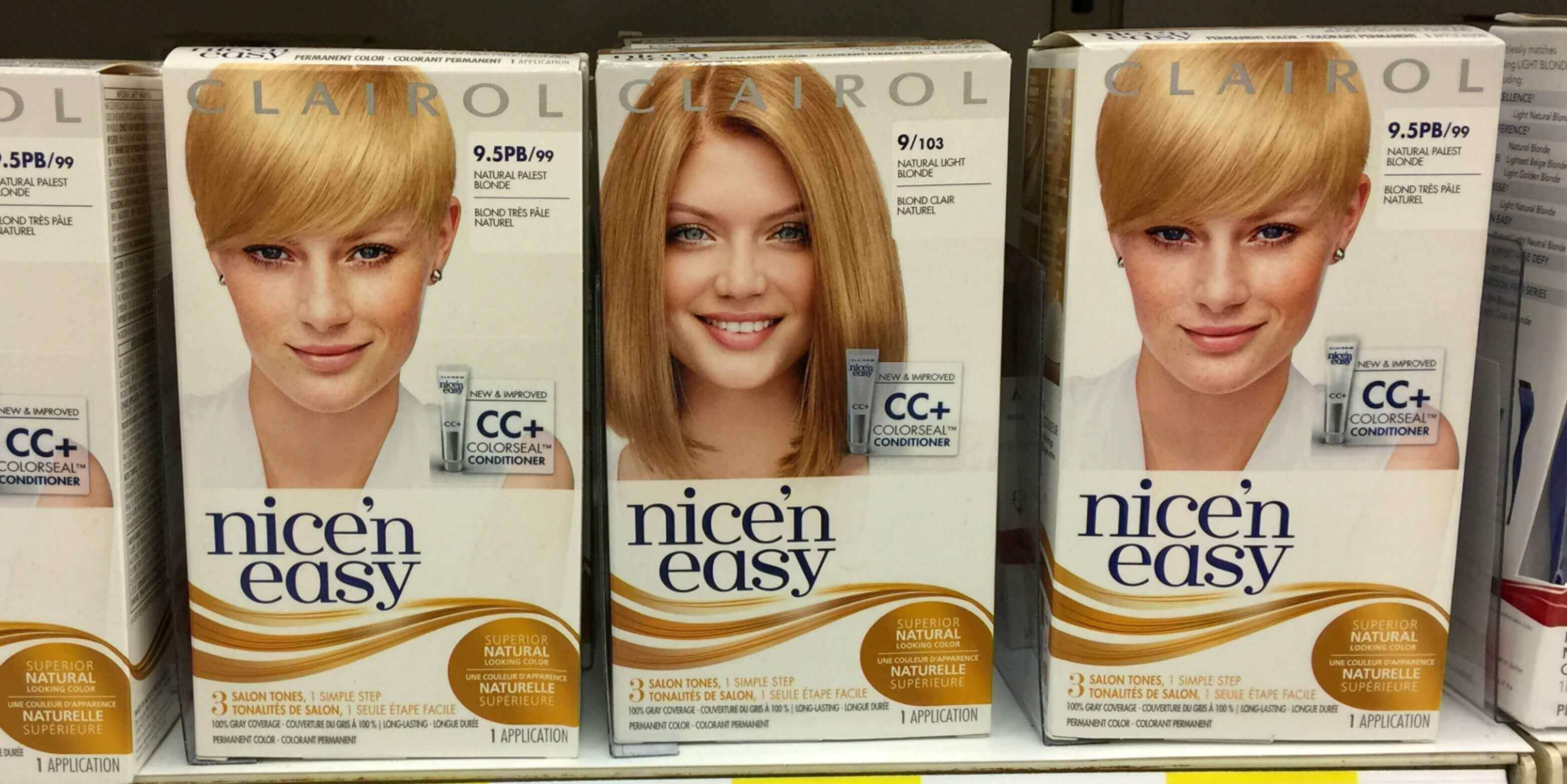 Clairol Nicen Easy Hair Color Just 093 At Targetliving Rich With