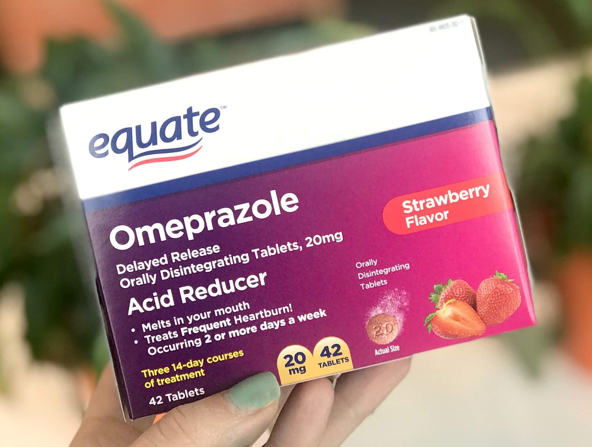 New High Value 3 Equate Omeprazole Orally Disintegrating