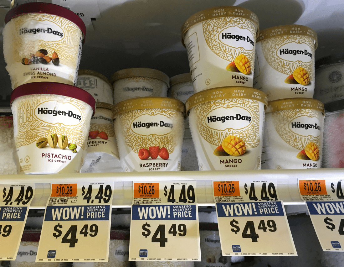 graphic regarding Haagen Dazs Coupon Printable referred to as Haagen Dazs Pints as minimal as $2.00 at Prevent Retail store, Big, and