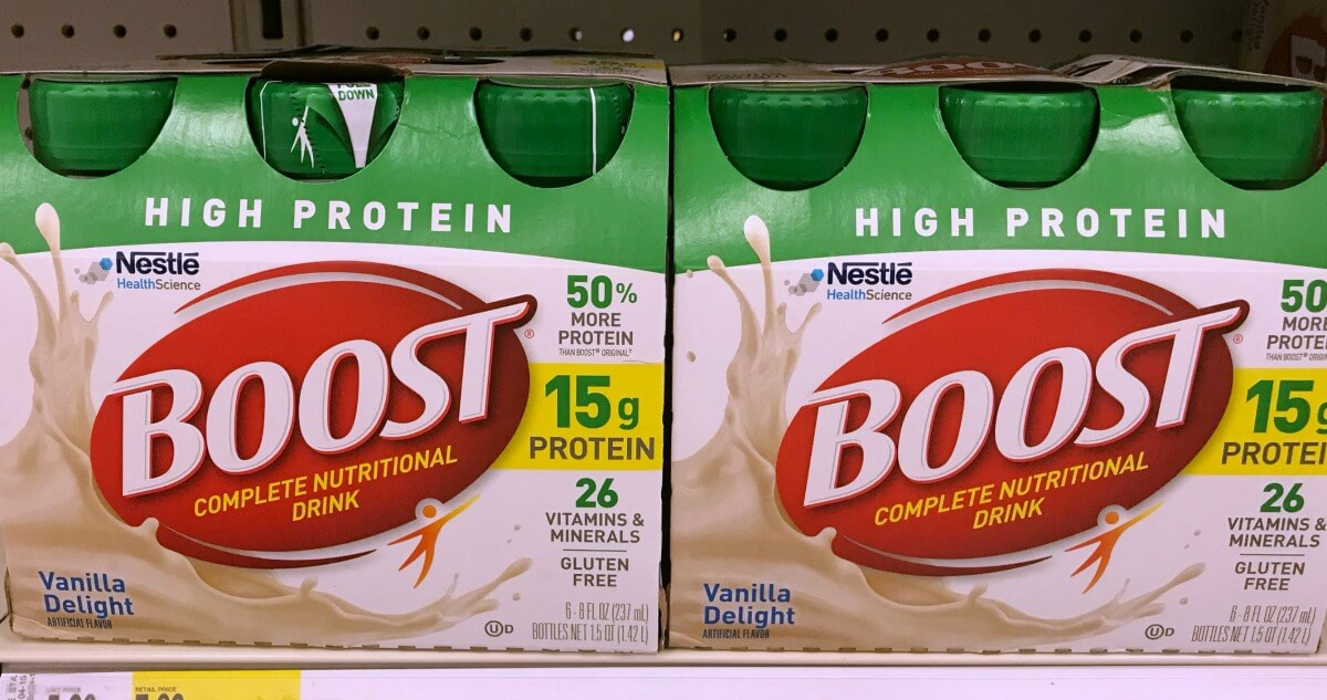 photograph relating to Boost Printable Coupons titled Fresh $2/1 Increase Dietary Consume or Consume Combine Coupon - $2.99
