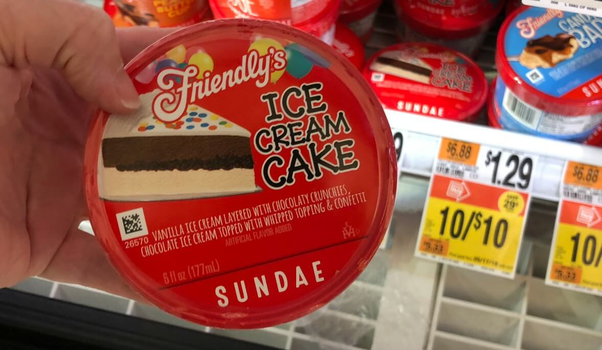 photo relating to Friendly's Ice Cream Coupons Printable Grocery identified as Friendlys Ice Product Sundae Cups Simply just $0.67 at Avert Retail store
