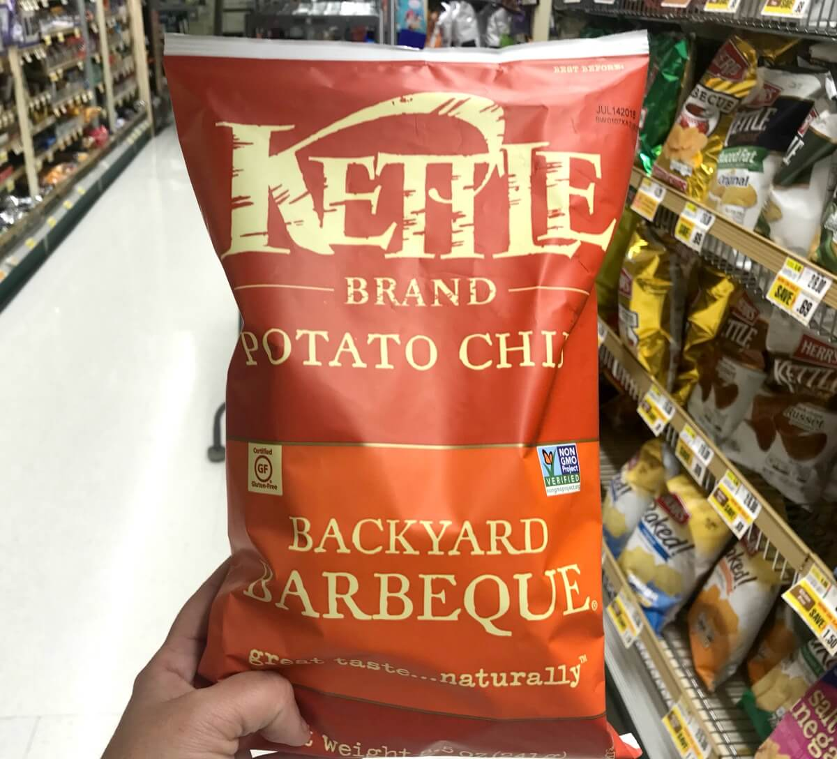 Kettle Chips Coupon January 2019
