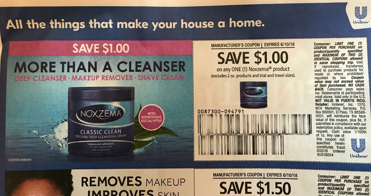 photograph about Unilever Printable Coupons identify Listed here is Why The Refreshing Noxzema Coupon Is Not Supposed for Shave