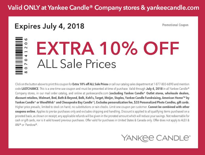Yankee Candle: Large Candles $9, Medium Jars $7 20 + Up to