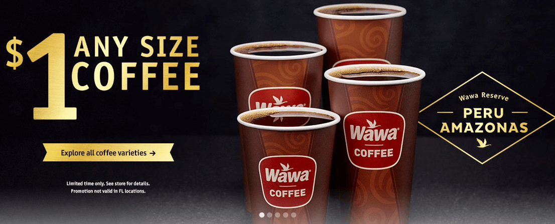 image about Wawa Coupons Printable named Acquire $1.00 Wawa Espresso throughout 10/14Residing Prosperous With Coupons®