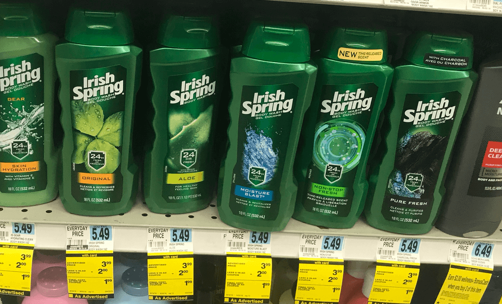 Irish Spring Coupons March 2019