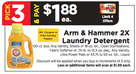 photo about Arm and Hammer Coupons Printable identify $3 in just Fresh new Arm Hammer Laundry Discount codes - 3 Improved Than Absolutely free