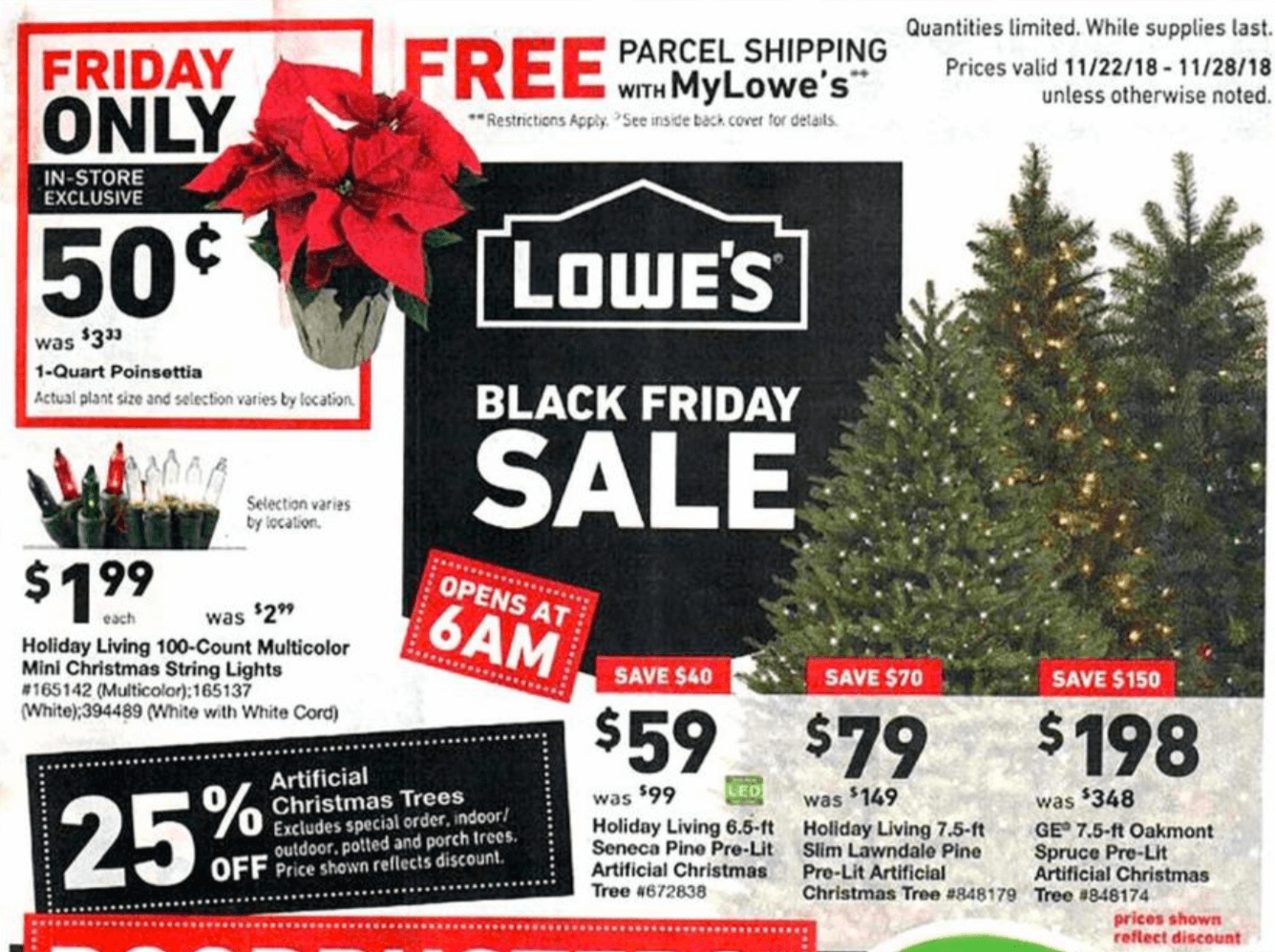 Lowes Black Friday Ad 2018 Lowes Deals Hours More Living Rich With Coupons