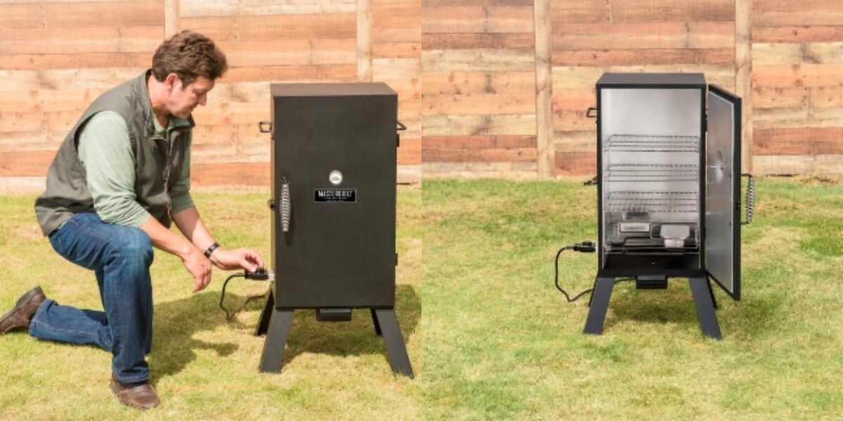Image result for Masterbuilt MES 35B Electric Smoker
