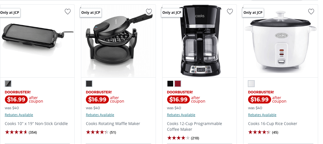 JCPenney: Cooks Small Kitchen Appliances JUST $6.99 (Reg $40 ...