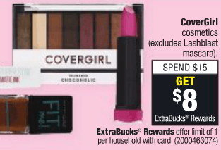 Up To $3 Money Maker on CoverGirl Easy Breezy Brow Fill + Define