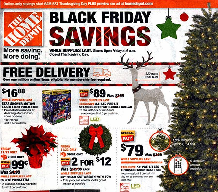 Home Depot Black Friday Ad 2018 Home Depot Deals Hours