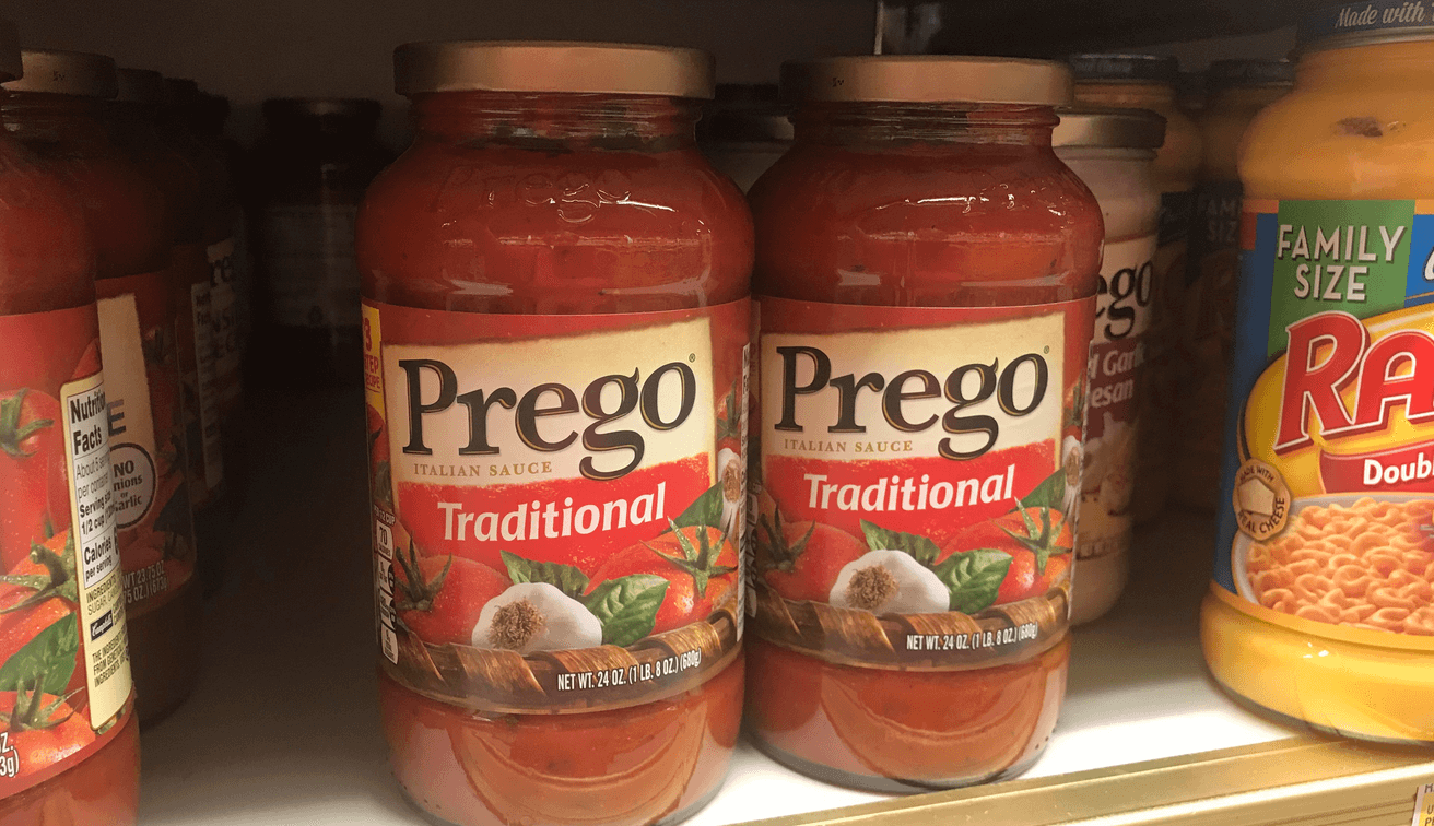 image about Prego Printable Coupons called $1.75 within just Refreshing Prego Pasta Sauce Coupon codes - as Reduced as $0.92 at