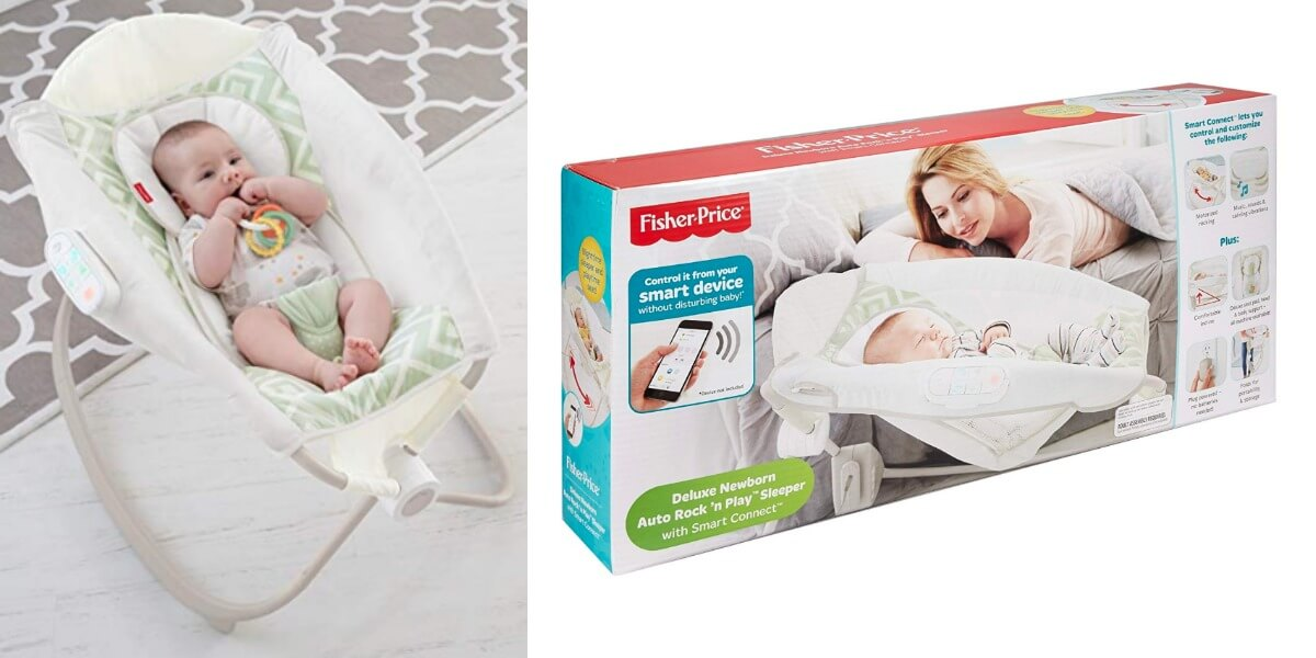 Fisher Price Deluxe Auto Rock N Play Sleeper With Smartconnect 44 92 Reg 99 99 Living Rich With Coupons