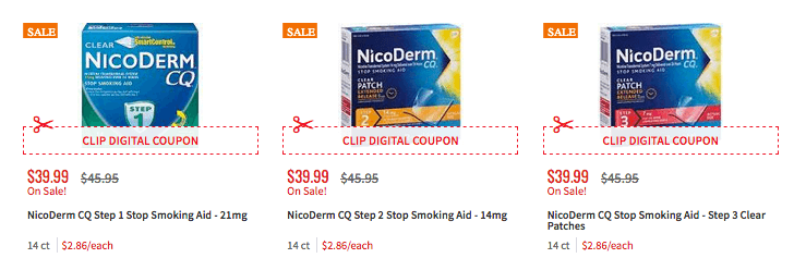 coupon for nicoderm cq patch