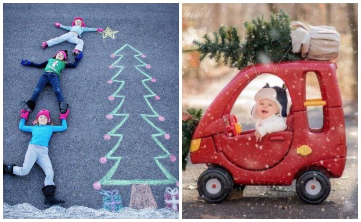 Christmas Card Image Ideas.15 Unique Christmas Photo Ideas That Will Impress Your