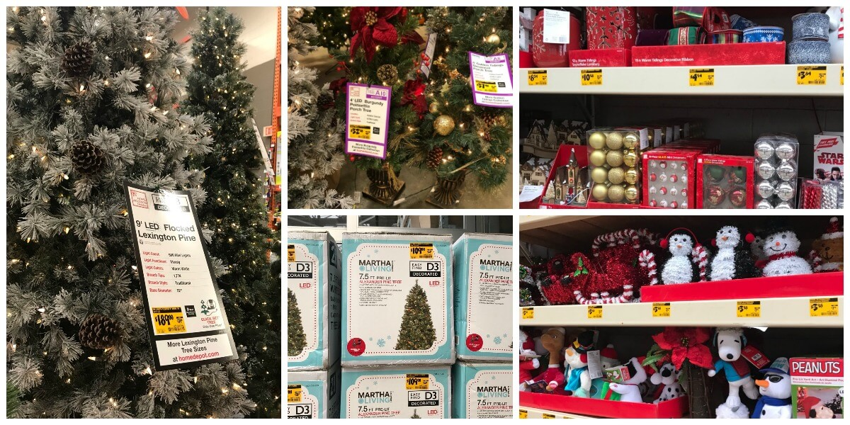 Home Depot After Christmas Sale 2018 Clearance