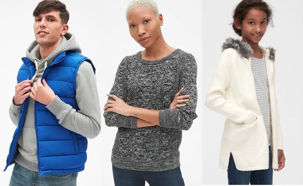 GAP Coupon January 2019