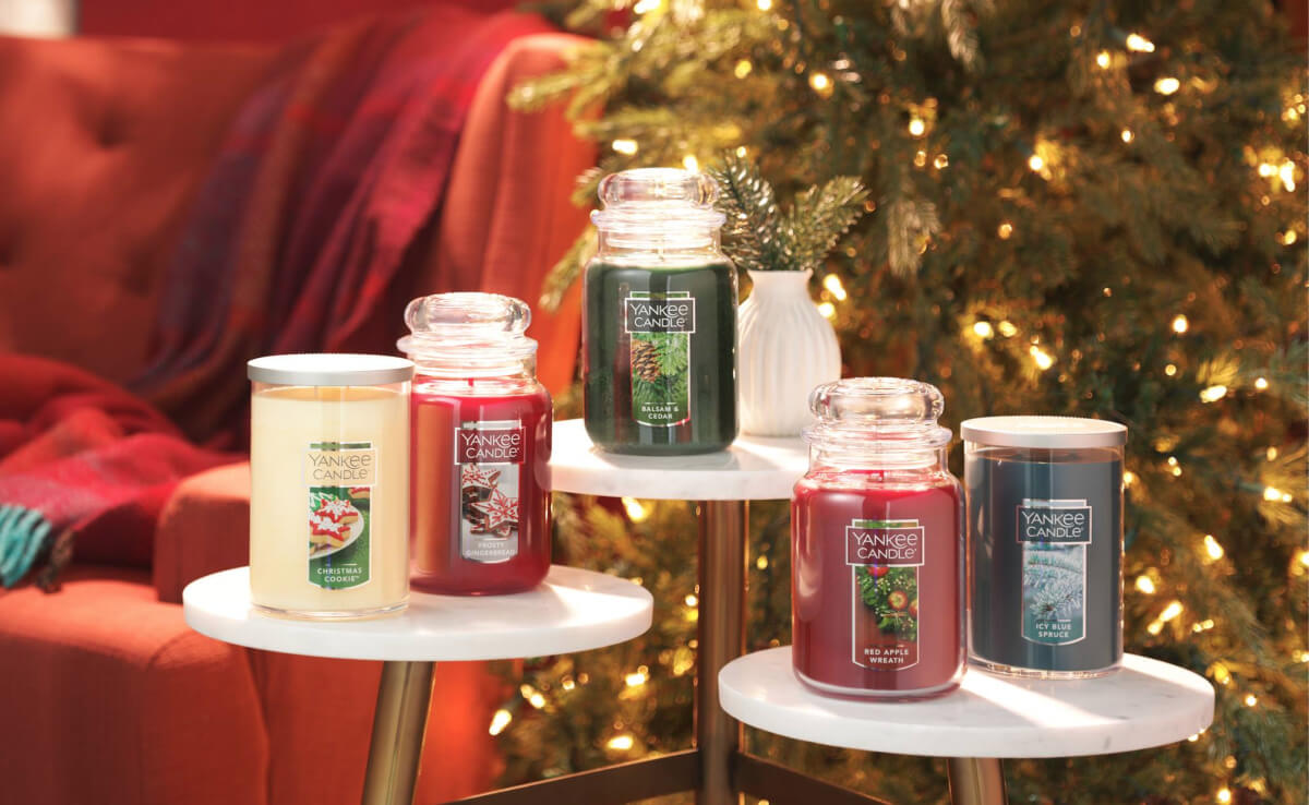 photo about Yankee Candle Coupon Printable known as 75% Off Yankee Candle Semi-Yearly Sale - Huge Candles Simply just
