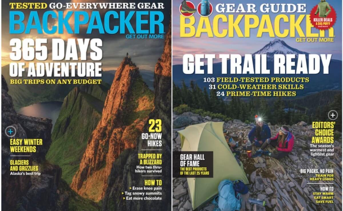 Backpacker Magazine Coupon January 2019