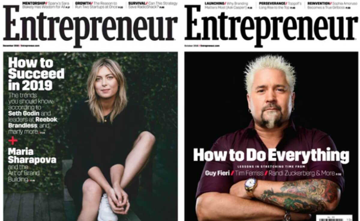 Entrepreneur Magazine Deal 2019