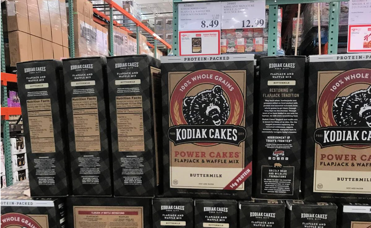Costco Hot Deal on Kodiak Power Cakes Mix, 72 oz.Living