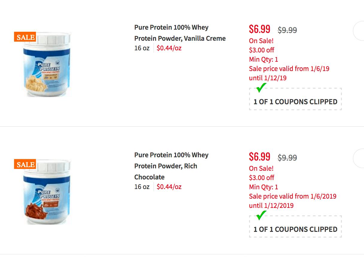 Popular stores for pureprotein.com