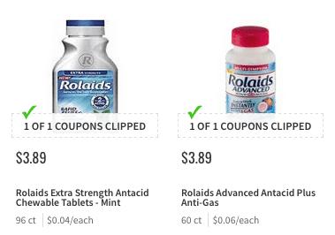 New 2 1 Rolaids Bottle Coupon Money Maker At Shoprite
