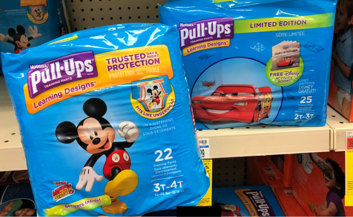 graphic about Printable Coupon $3 Off Pull Ups identify Huggies Pull-Ups as Reduced as $3.41 at CVS! Residing Loaded With