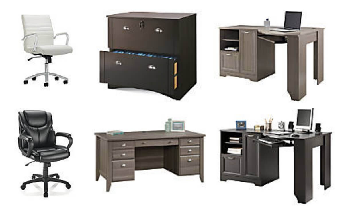 Realspace Corner Desk 109 99 Reg 229 99 More 50 Off Office Furniture Deals Living Rich With Coupons