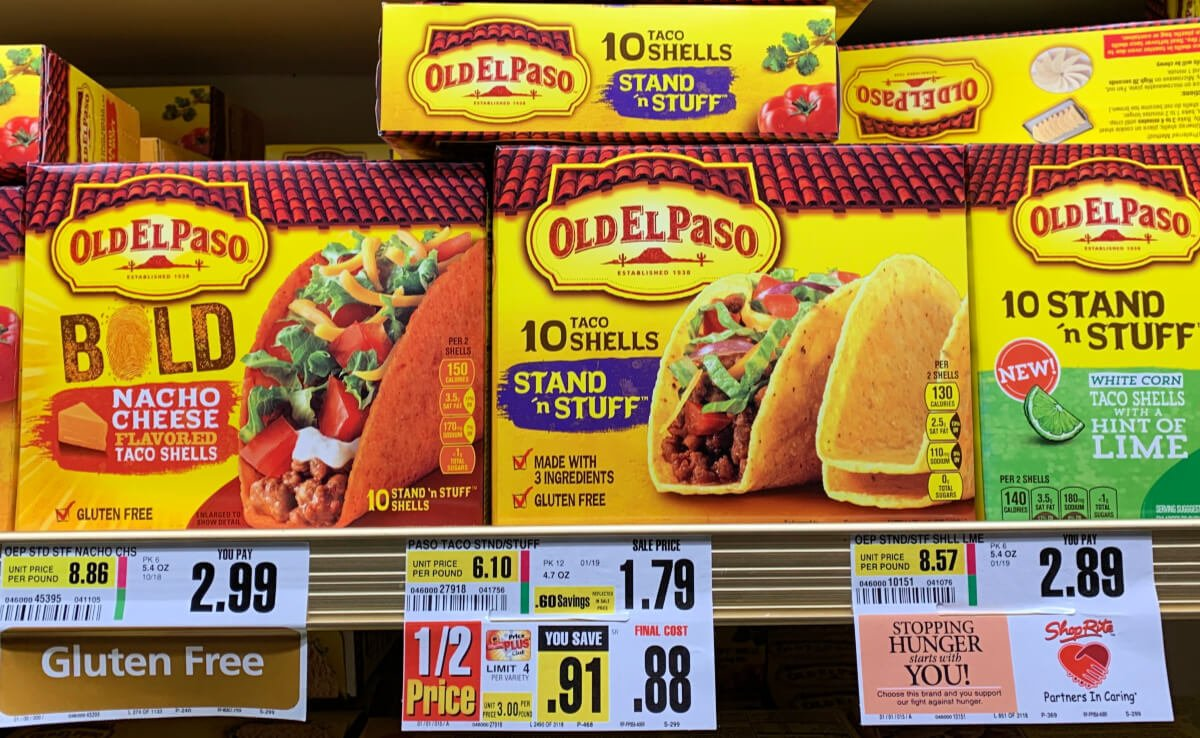 Old El Paso Coupons January 2019