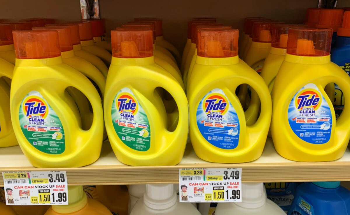 photograph about Tide Simply Clean Printable Coupons identified as Tide Basically Laundry Detergent or Pods Precisely $0.99 at ShopRite