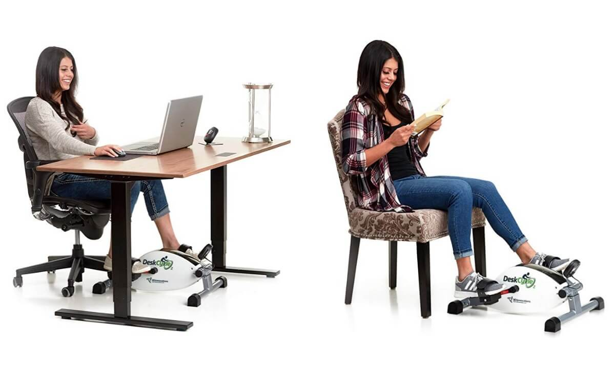 Terrific Up To 30 Off Deskcycle Under Desk Exercise Bike And Pedal Short Links Chair Design For Home Short Linksinfo