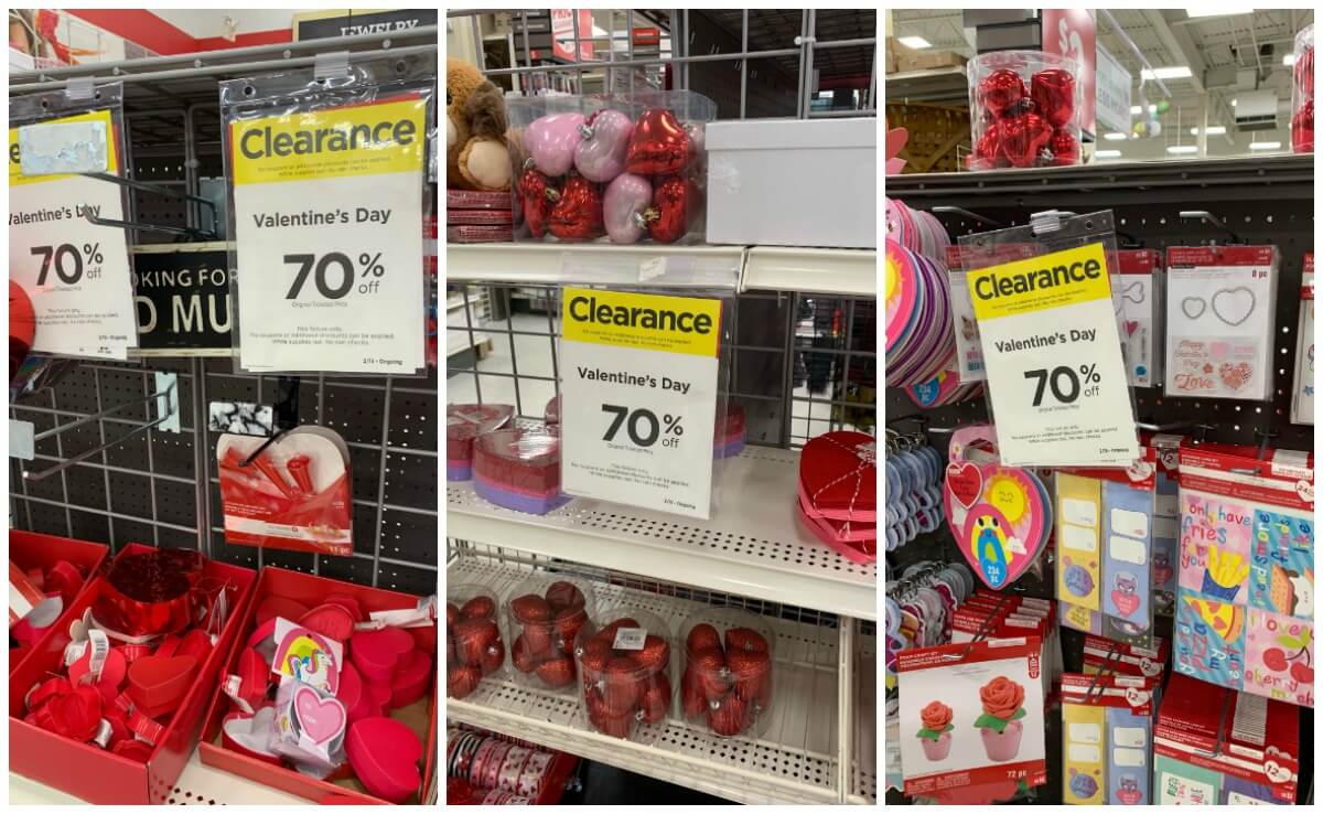 MIchaels Valentines Day Clearance 2019