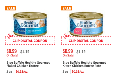 image regarding Blue Buffalo Printable Coupons known as 2 Free of charge Blue Buffalo Soaked Cat Meals Cans at ShopRite! Residing