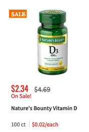 image relating to Nature's Bounty Printable Coupon identify Refreshing $1/1 Natures Bounty Vitamin or Health supplement Coupon - as