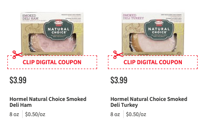 1 In New Hormel Natural Choice Deli Meat Bacon Coupons Deals Living Rich With Coupons