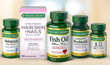 graphic about Nature's Bounty Printable Coupon called Refreshing $1/1 Natures Bounty Vitamin or Health supplement Coupon - as