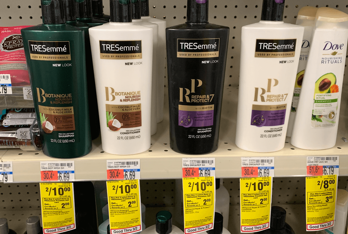 photo regarding Tresemme Printable Coupon known as Tresemme High quality Shampoo Conditioner as Reduced as $0.37 at